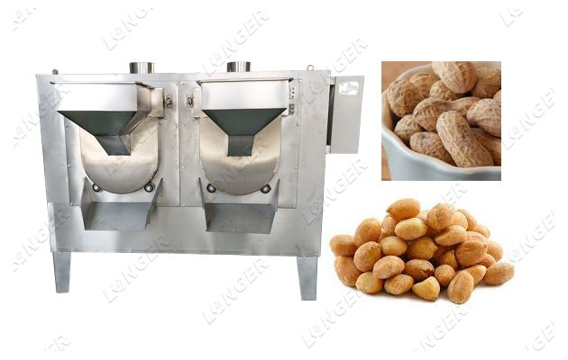 peanut roasting machine manufacturer