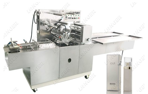 Perfume Box Wrapping Machine factory