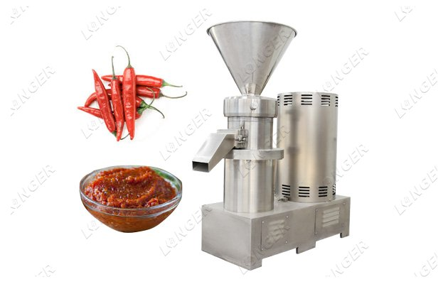 Chilli Sauce Grinding Machine