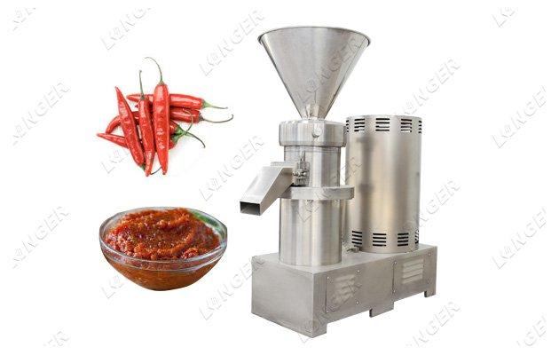 chili paste making machine