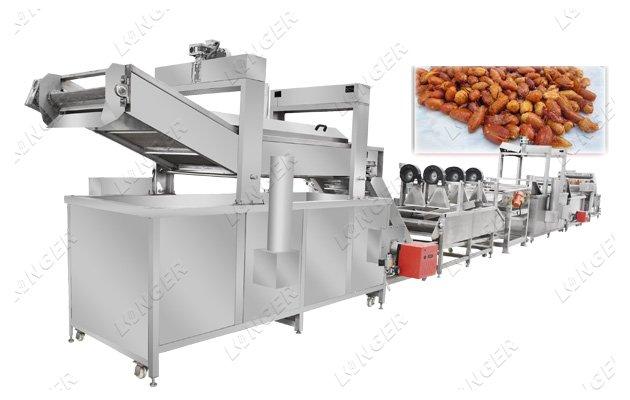 peanut frying line cost