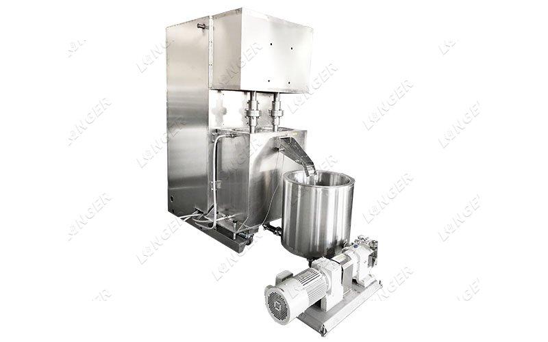 chocolate spread filling machine