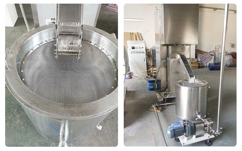 chocolate grinding machine