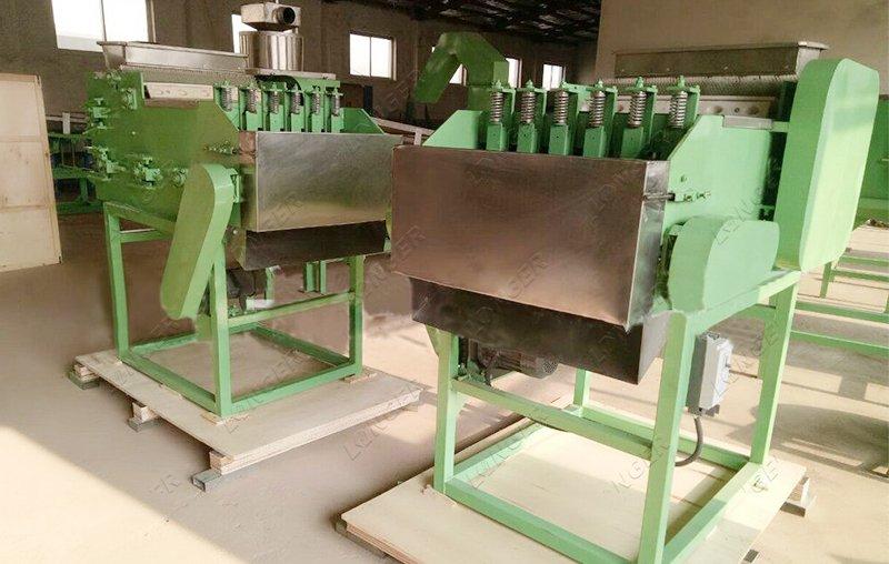 cashew shell removing machine