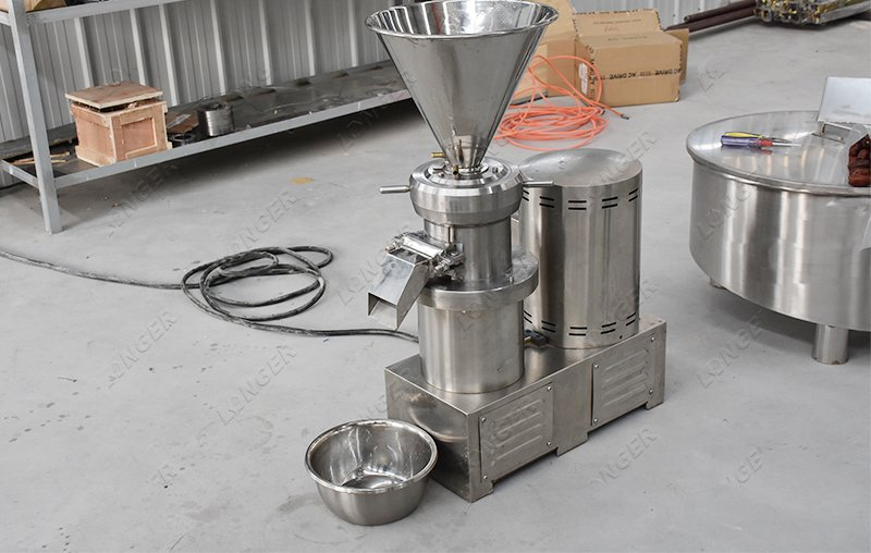 cocoa nut butter making machine