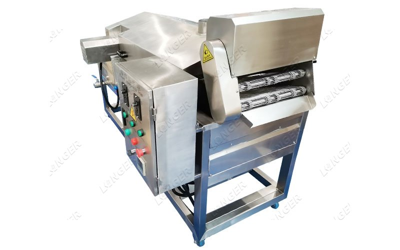 green bean frying machine