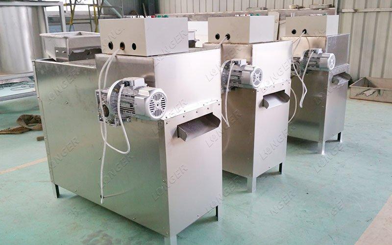 pistachio strips cutting machine