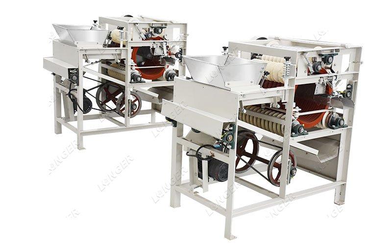 pistachio peeling machine