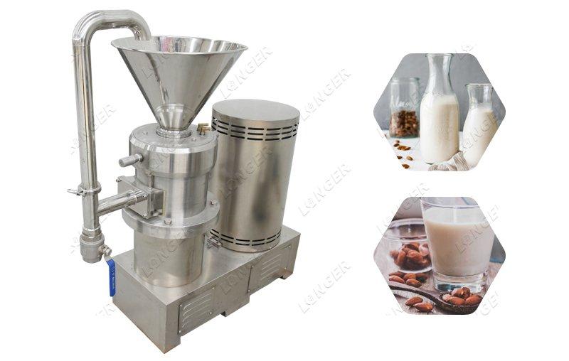 commercial almond milk machine