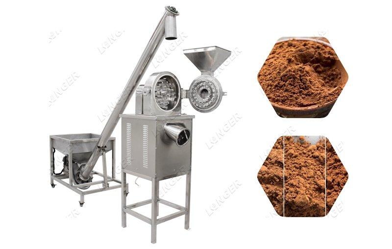 cocoa powder grinder
