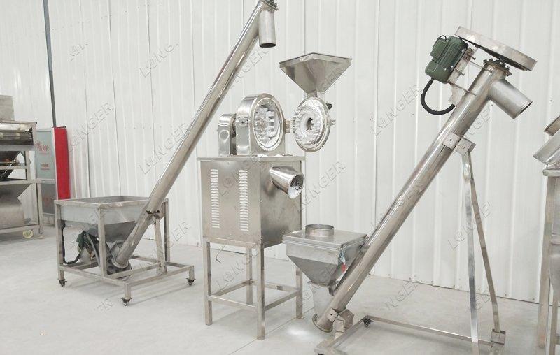 cocoa powder mill machine
