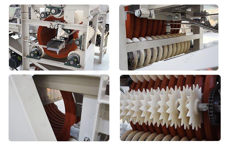 garbanzo bean peeling machine