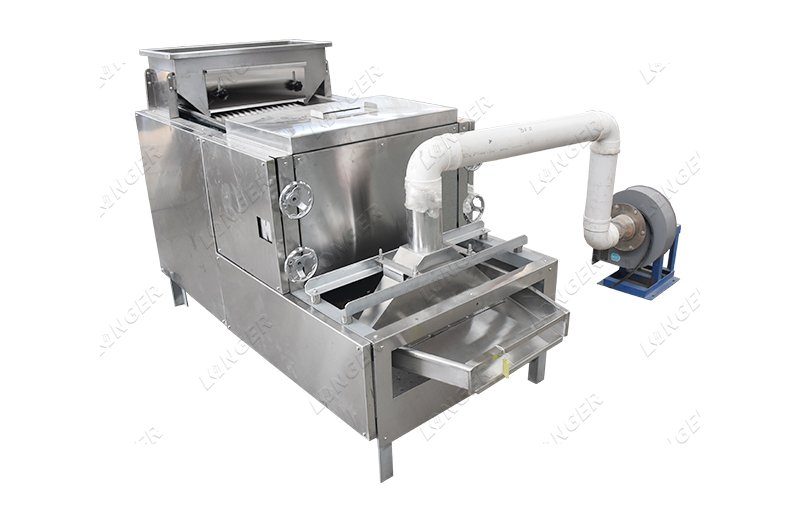 cocoa splitting machine