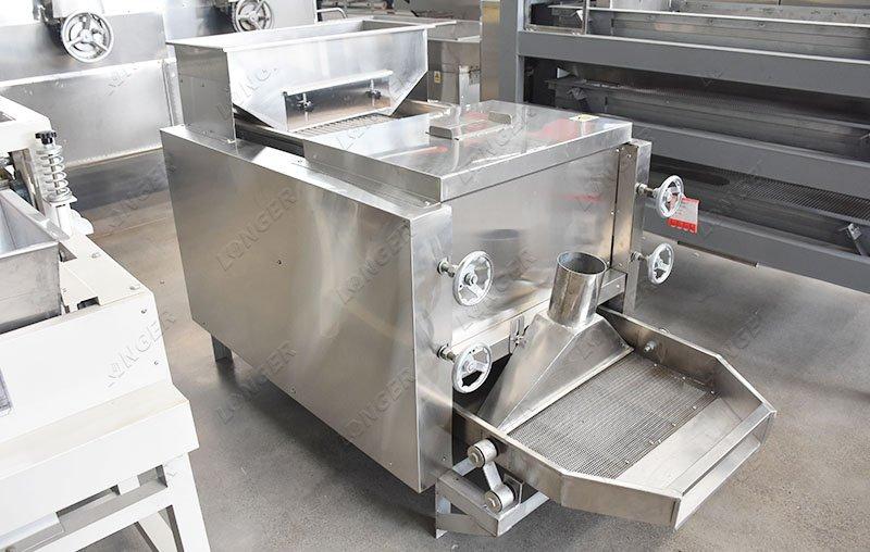 cocoa bean dehulling machine