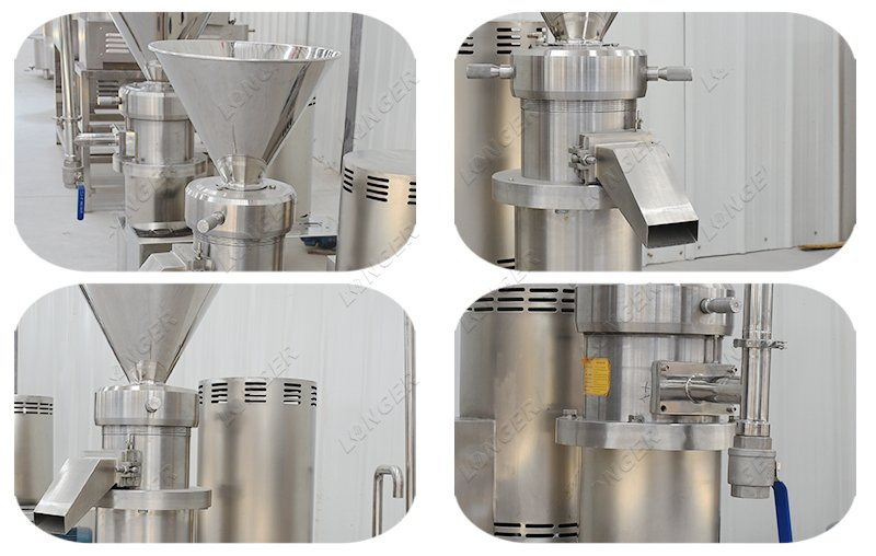 industrial cocoa grinding machine