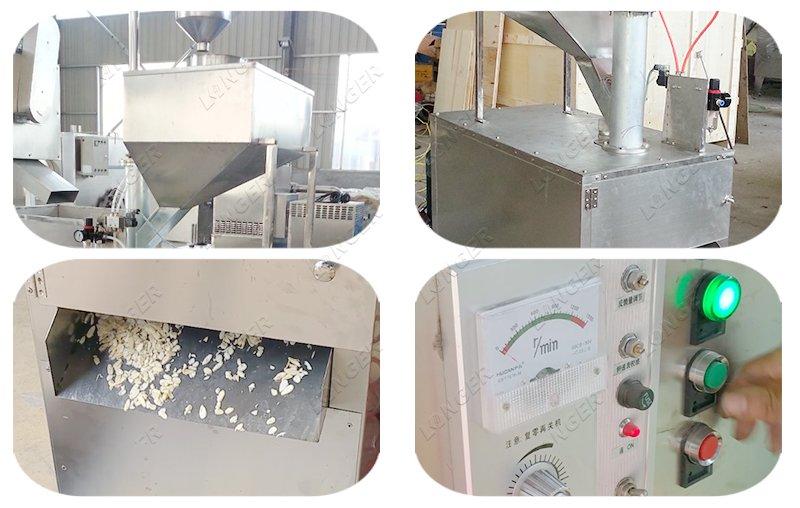 almond tukda making machine